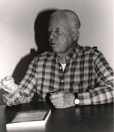 Ary Marques Jones. 1999. Fotógrafo Vinícius Zepeda. Acervo Comunicar.