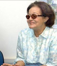 Profa. Myrtes de Aguiar Macedo. Fonte: Editora PUC-Rio