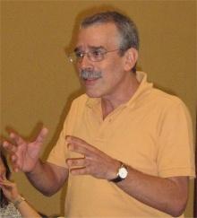 Pro. Reinaldo Calixto de Campos. 2008. Fotografo Antônio Albuquerque.