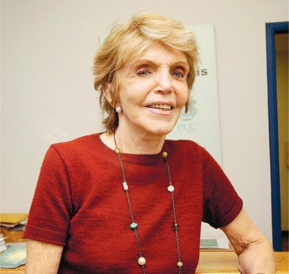 Professora Sônia de Camargo. Fotógrafo Felipe Fittipaldi. Acervo Projeto Comunicar.