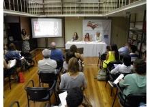 Evento realizado na Biblioteca do Brics Policy Center. Fonte: site do BPC.