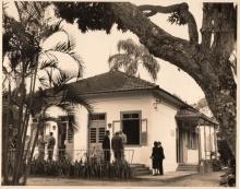 Hospital São Marcos, que localizava-se na Rua Marquês de São Vicente, 205.