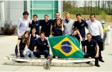 Equipe AeroRio. Foto de divulgação.