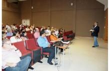 Evento realizado no auditório principal do CEPE. Fotógrafo Antônio Albuquerque. Acervo Núcleo de Memória.
