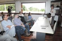 Palestra realizada na Sala de Reuniões do Decanato do CTC em 21/03/2013. Fotógrafo Antônio Albuquerque. Acervo do Núcleo de Memória.