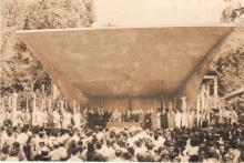Inauguração da Concha Acústica e Lançamento das Bandeiras Educacionais.