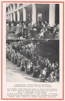 Revista A Vitória Colegial - Agosto de 1955. Acervo Colégio Santo Inácio.