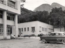 Centro de Dosimetria, que localizava-se onde hoje está o Rio Datacentro. Acervo Departamento de Física.