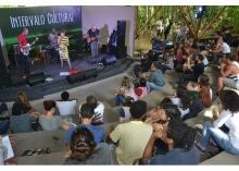 Show realizado no Anfiteatro Junito Brandão. Fotógrafo Antônio Albuquerque. Acervo Núcleo de Memória.
