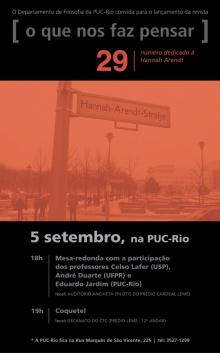 Convite para o lançamento do livro.
