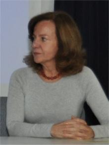 Profa. Angela Wagener (QUI). Fotógrafo Antônio Albuquerque. Acervo do Núcleo de Memória.