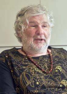 Prof. Silvio Tendler. 2013. Fotógrafa Flávia Espíndola. Acervo do Projeto Comunicar.