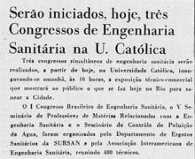 Matéria no Jornal do Brasil, 08/07/2960, p.7.