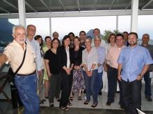 Participantes do workshop em momento de confraternização. Fonte: site do NECE.