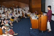 Evento realizado no auditório do RDC. Fotógrafo Antônio Albuquerque.