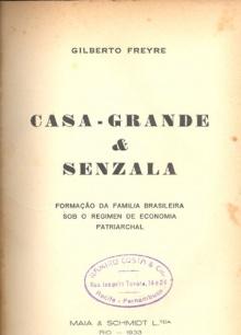 1ª edição do livro Casa-Grande e Senzala