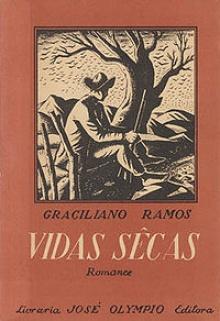 Capa da 1ª edição de Vidas Secas.