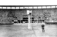 Imagem de evento semelhante, no Estádio do Vasco da Gama, em 1942.