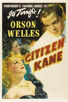 Cartaz do filme O cidadão Kane.