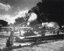 Ataque aéreo à base naval norteamericana de Pearl Harbour