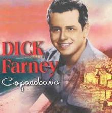 Capa de um disco de Dick Farney com uma das inúmeras gravações de Copacabana.