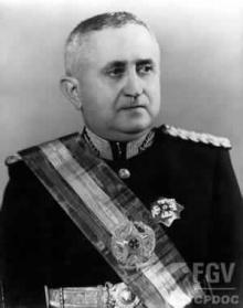 O General Eurico Gaspar Dutra.