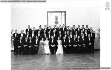 Formandos da primeira turma de Engenharia - 1952