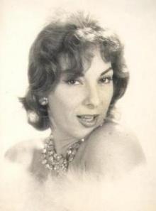A cantora Marlene.