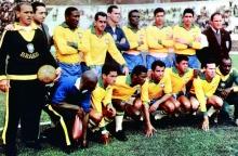 Seleção Brasileira na Copa de 1962.