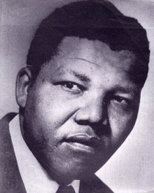 Nelson Mandela em 1964.