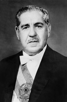 O Marechal Arthur da Costa e Silva, segundo presidente do regime militar.