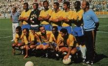 Seleção Brasileira Campeã do Mundo em 1970.