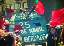 25 de abril em Lisboa.