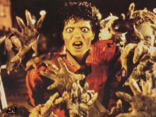 Cena do videoclip de Thriller.