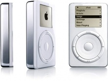 Primeiro modelo do Ipod.