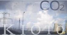 Imagem alusiva ao protocolo de Kioto e às questões energética e de controle da emissão de CO2