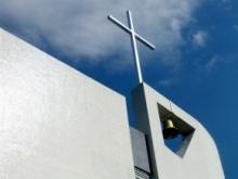Campanário da Igreja do Sagrado Coração de Jesus.