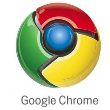 Logomarca do Google Chrome.