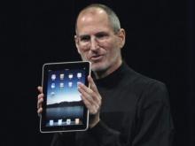 Steve Jobs no lançamento do Ipad.