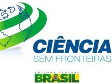 Logomarca do programa Ciência sem Fronteiras.