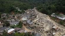 Consequências das chuvas em Teresópolis.