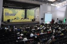 Participantes do evento no dia 11/06/2012, Ginásio Poliestportivo. Fotógrafo Antônio Albuquerque. Acervo do Núcleo de Memória.