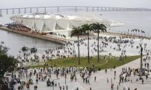 Vista da Praça Mauá e do Museu do Amanhã. Fotógrafo Pablo Jacob. Agência O Globo.