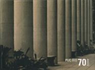 Capa do livro PUC-Rio 70 anos.