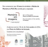 Convite da exposição.