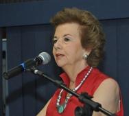 A Profa. Ana Maria Tepedino quando recebeu o título Professora Emérita. 10/12/2013. Fotógrafo Antônio Albuquerque.