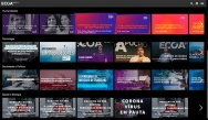 Tela do site da Plataforma Educacional ECOA.