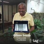 Gilson Souza, em homenagem do IAG.