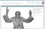 Página de abertura do site do Ano Dom Helder Camara na PUC-Rio