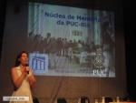 Apresentação de Silvia Ilg no evento.